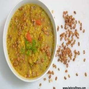 Vegetable Quinoa Sprout Soup
