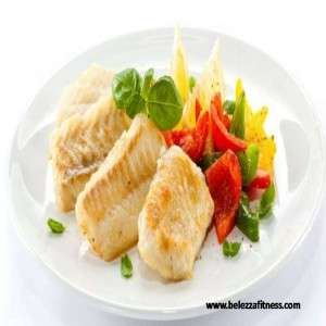 GRILLED FISH WITH SAUTEED VEGGIES