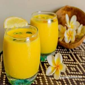 SWEET AND TANGY MANGO SMOOTHIE