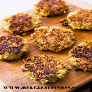 Quinoa cutlet with tossed salad
