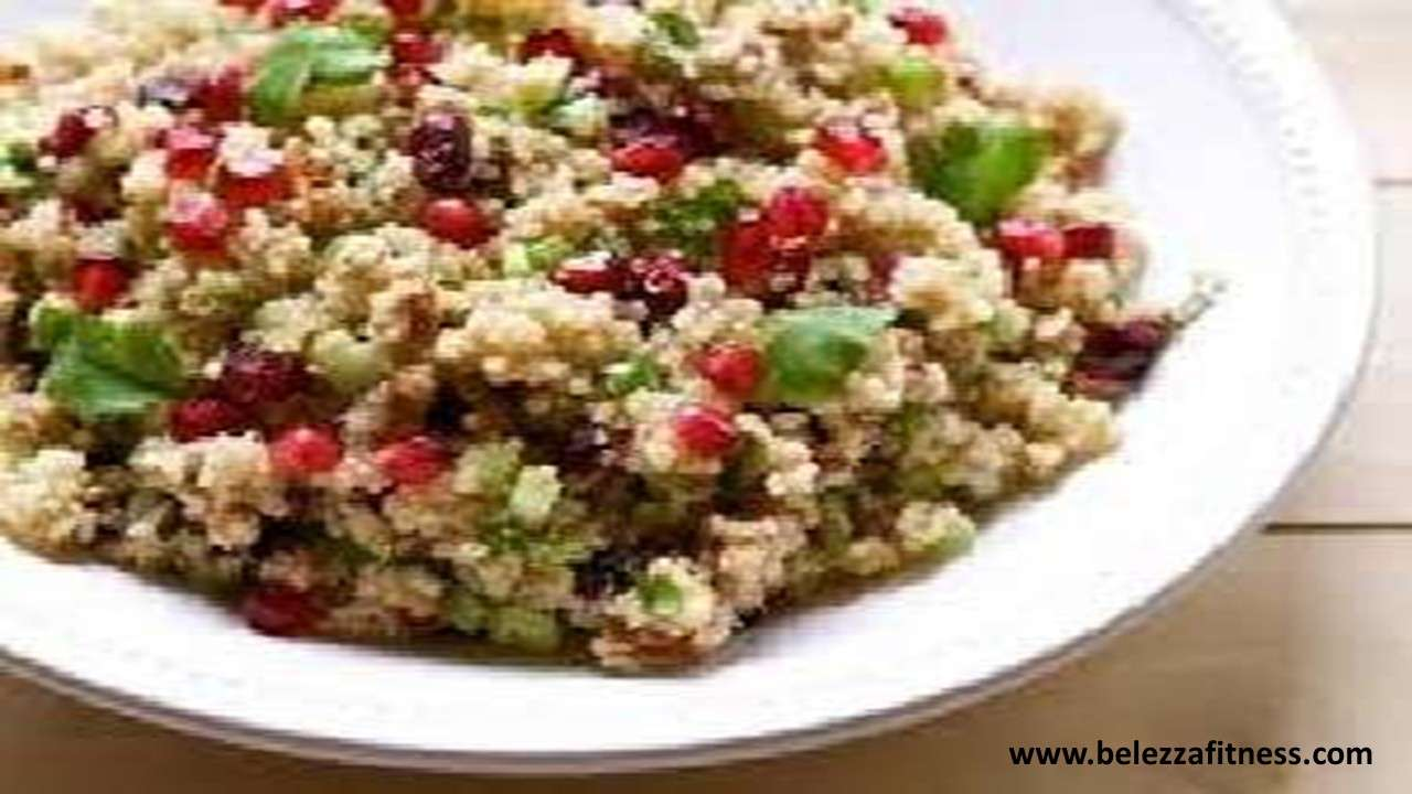 Quinoa Cilantro and Cranberry Salad