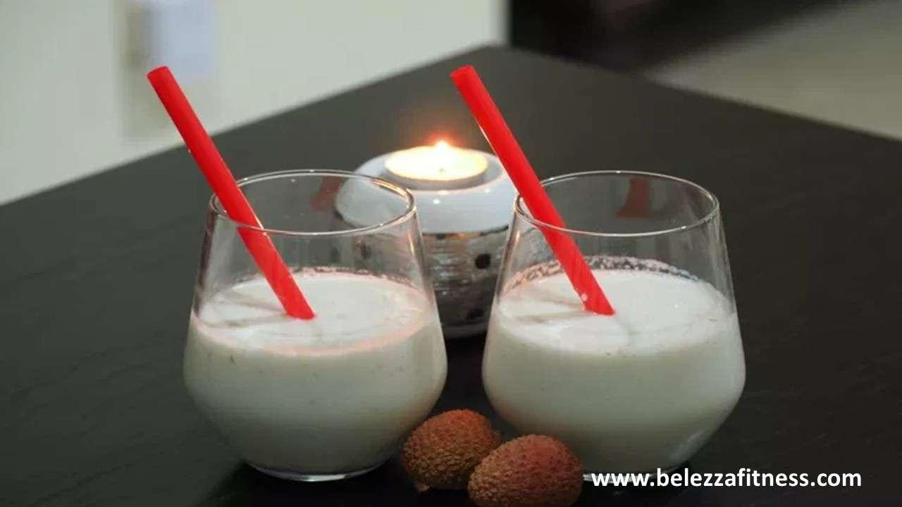 Lychee Yoghurt Smoothie