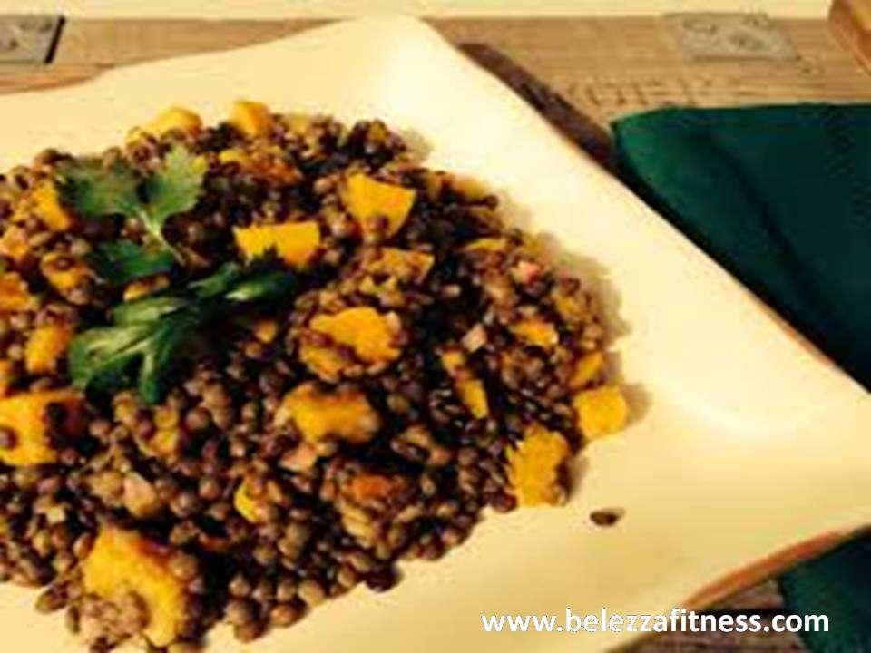Roasted lentils